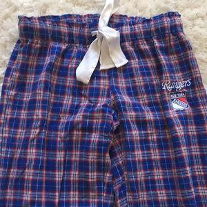 Girls ny rangers pajama pants